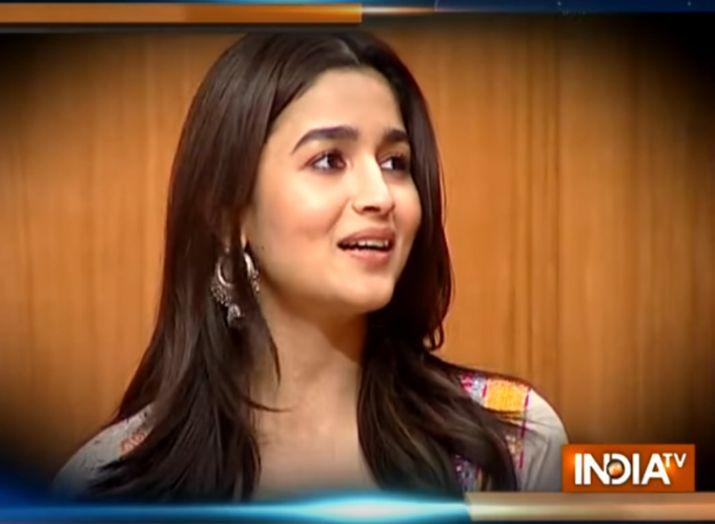 Alia Bhatt In Aap Ki Adalat- India TV