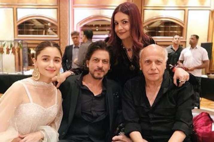 Alia Bhatt Shah Rukh Khan Ranveer Singh Mahesh Bhatt viral photos from Sakshi Bhatt reception- India TV