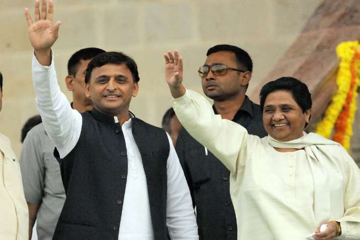 Akhilesh Yadav and Mayawati- India TV