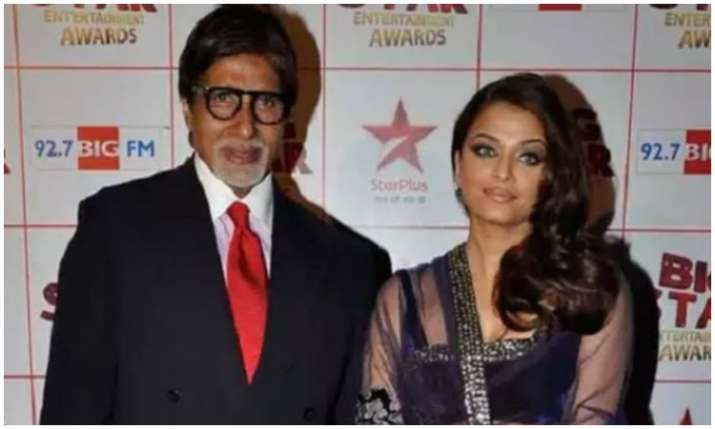 Amitabh bachchan and Aishwarya Rai- India TV