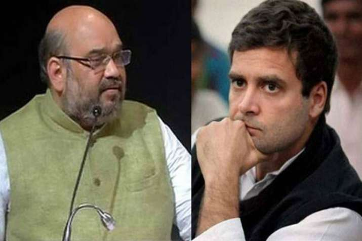 Amit Shah questions Rahul Gandhi on Vande Mataram issue in Madhya Pradesh- India TV