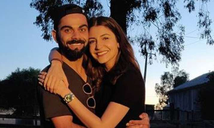 Anushka Sharma shares pictures with husband Virat Kohli- India TV