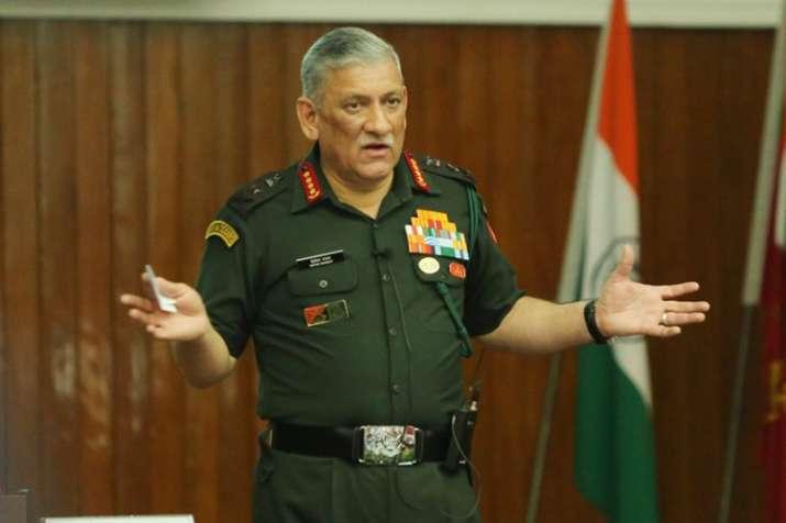 आतंकवाद तब तक रहेगा, जब तक देश राष्ट्र की नीति के तौर पर इसका उपयोग करते रहेंगे: बिपिन रावत - India TV