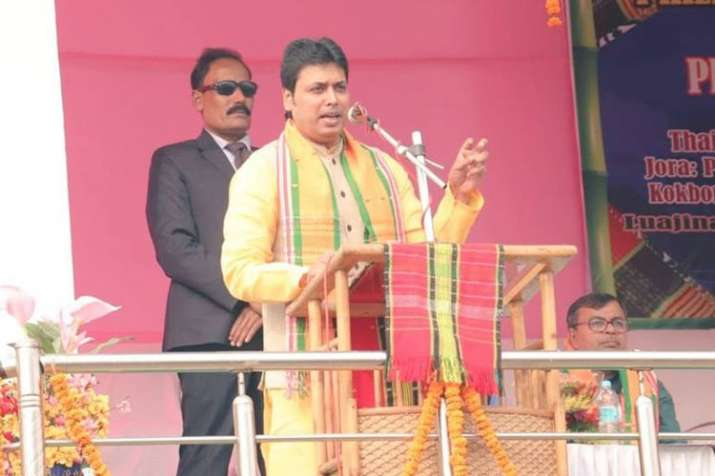 Mamata has dug up her own grave by allowing violence in West Bengal, says Tripura CM Biplab Deb- India TV