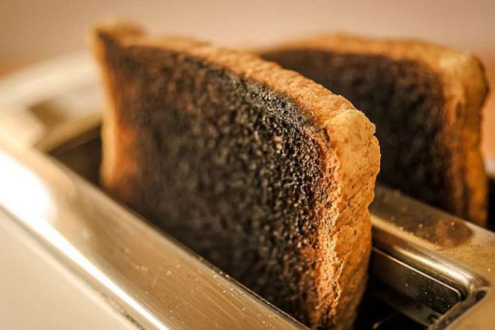 Burn Bread cause of cancer- India TV