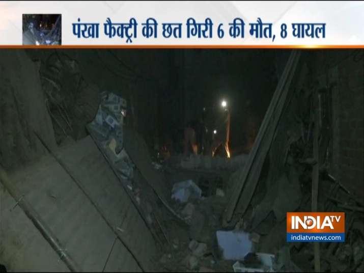 Delhi Building collapse- India TV