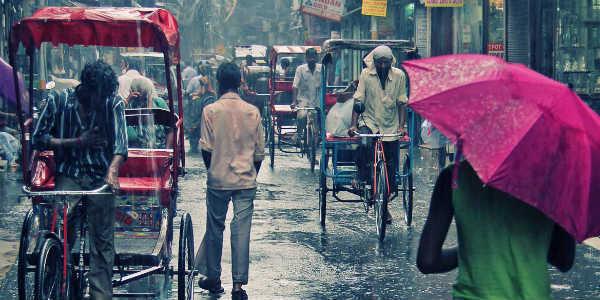 Delhi's air quality improves after rain- India TV