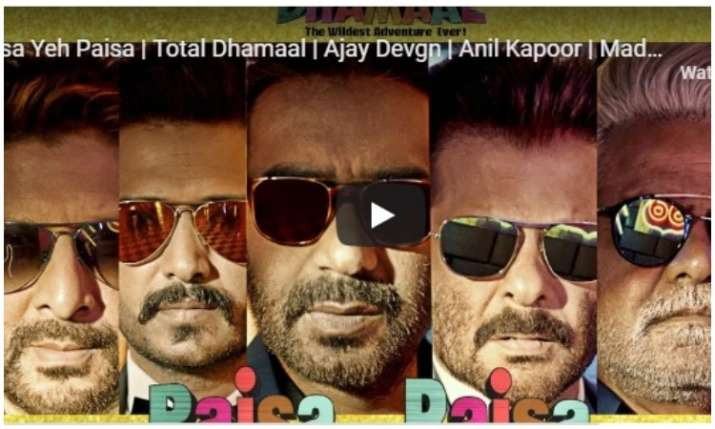 New song of total dhamaal- India TV