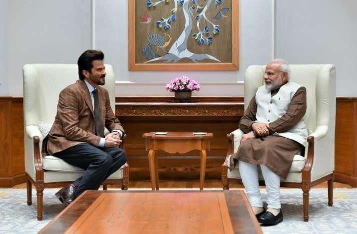 Anil kapoor and pm modi- India TV