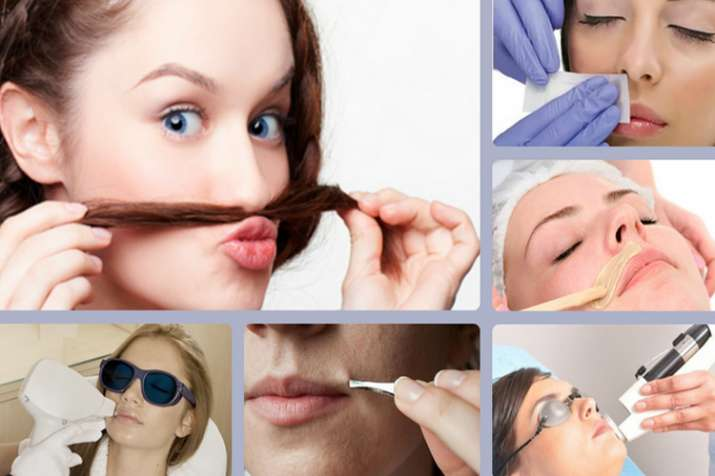 get rid of facial hair- India TV