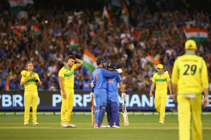 India Win Over Australia- India TV