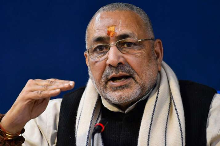 Patience of Hindus should not be tested, says Union minister Giriraj Singh   PTI File- India TV
