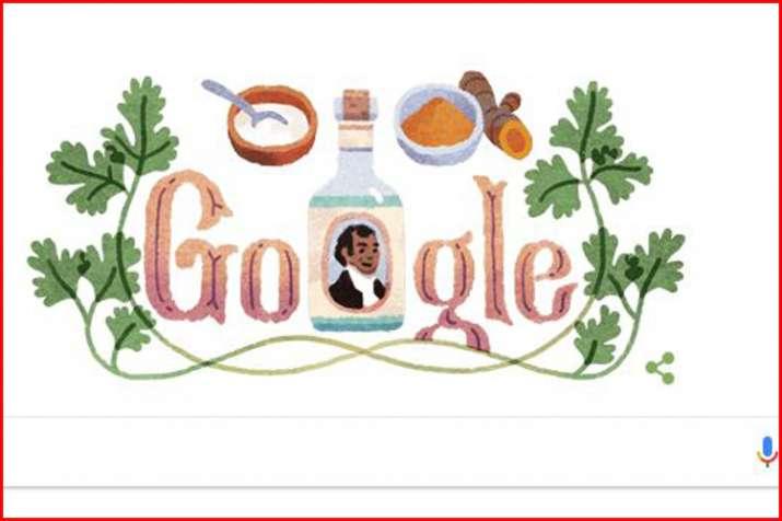 गूगल ने डूडल समर्पित कर एंग्लो-इंडियन उद्यमी शेख दीन मोहम्मद की मनाई जयंती- India TV