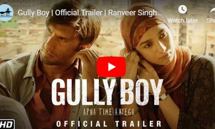 Watch Gully Boy movie Official Trailer launch LIVE...- India TV