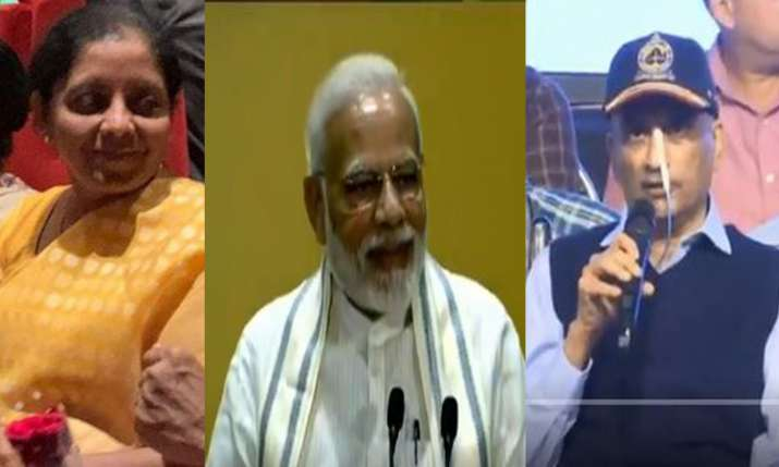 पीएम नरेंद्र मोदी, रक्षा मंत्री निर्मला सीतारमण, गोआ मुख्यमंत्री मनोहर पर्रिकर- India TV