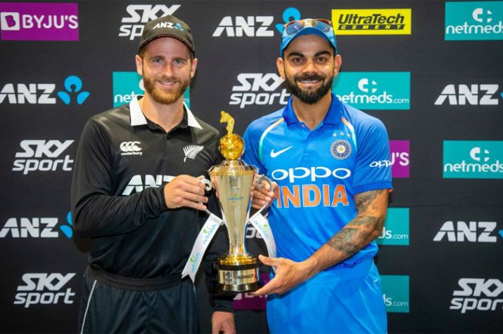 Live Cricket Score, IND vs NZ, 1st ODI: जानिए भारत में कब और कहां देख सकते हैं पहला वनडे मैच- India TV
