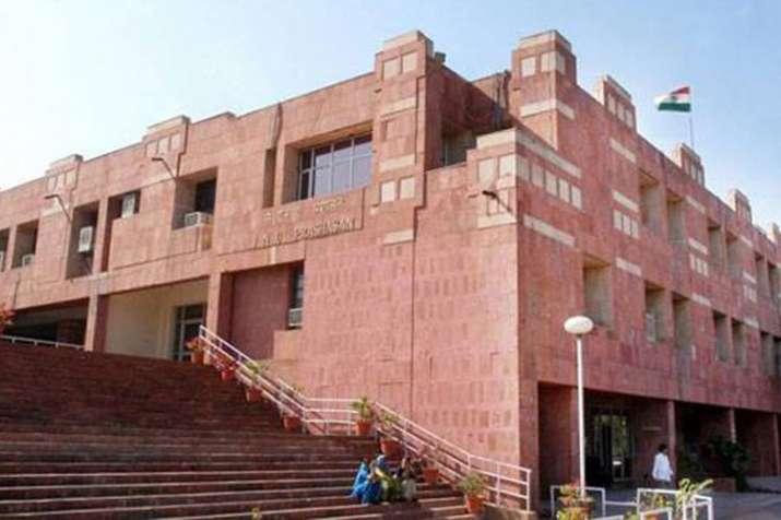 JNU professor files police complaint against JNUTA president and JNUSU secretary   PTI File- India TV