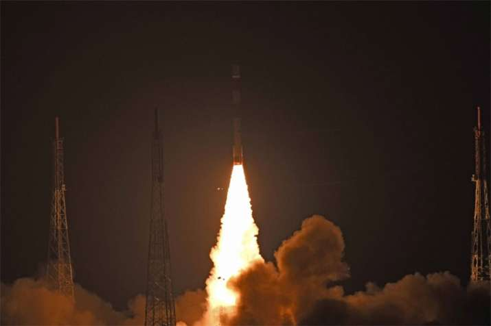 PSLV-C44 launches India's military satellite Microsat-R, students' payload Kalamsat successfully- India TV