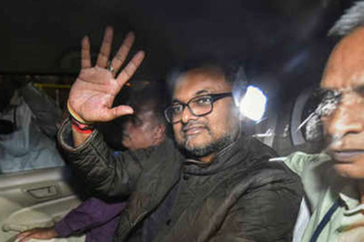 Supreme Court allows Karti Chidambaram to travel abroad, asks him to deposit Rs 10 crore first- India TV