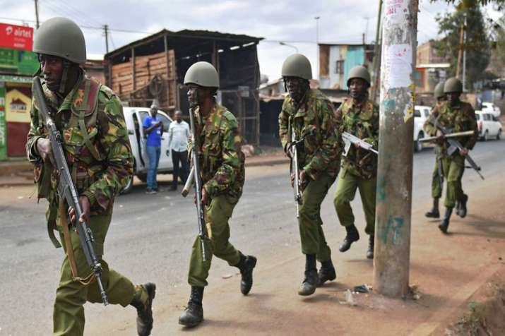 An upscale complex in Nairobi, Kenya is under attack, with a blast and heavy gunfire - India TV