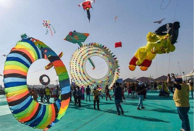 Kite Festival gujrat- India TV