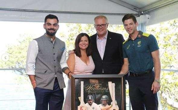 ऑस्ट्रेलियाई प्रधानमंत्री ने की विराट कोहली समेत टीम इंडिया की मेजबानी, ऑस्ट्रेलियाई टीम भी हुई शामि- India TV