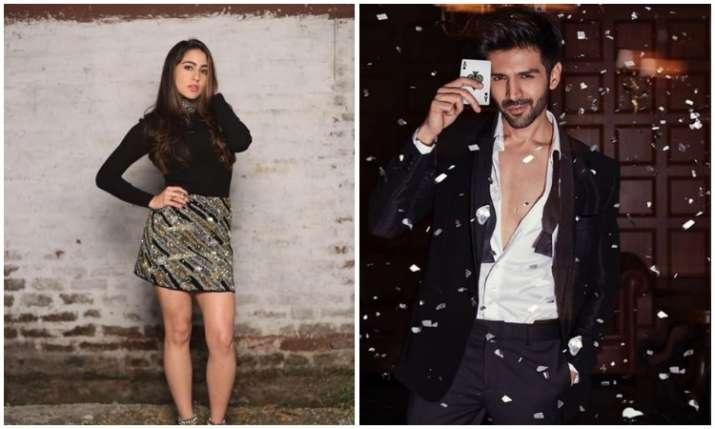Sara ali khan and kartik aaryan- India TV