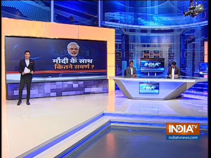 India TV CNX Opinion Poll on Upper Caste Voters- India TV