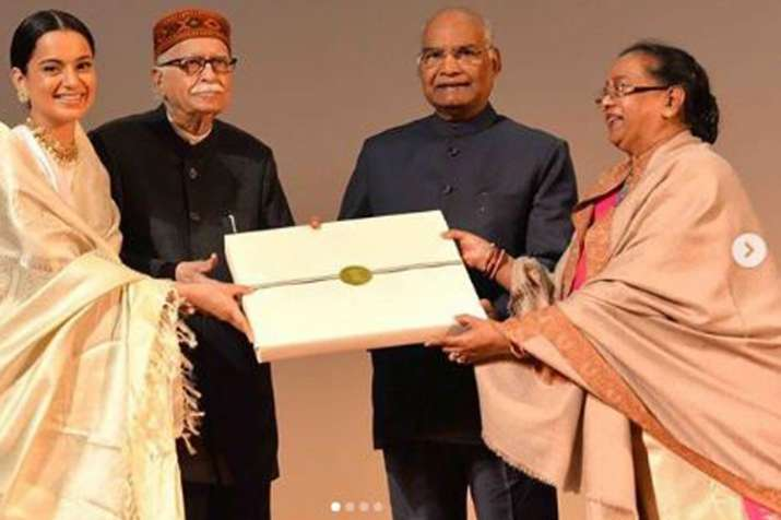 Manikarnika The Queen Of Jhansi special screening held for President Ramnath Kovind - India TV