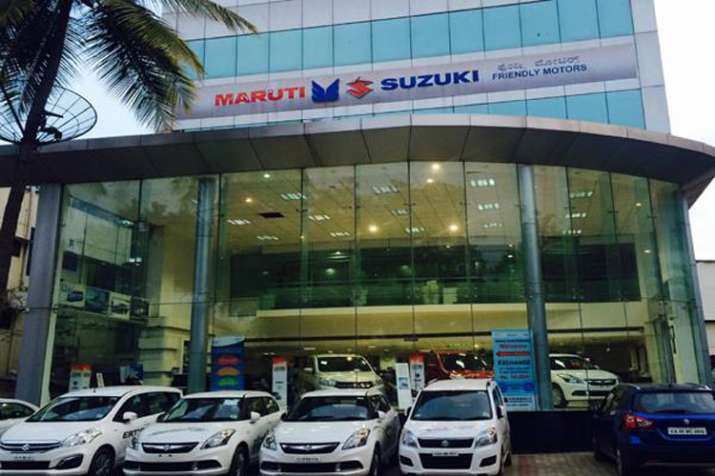 maruti suzuki showroom- India TV Paisa