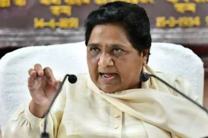 The BSP welcomes reservation for economically weaker...- India TV
