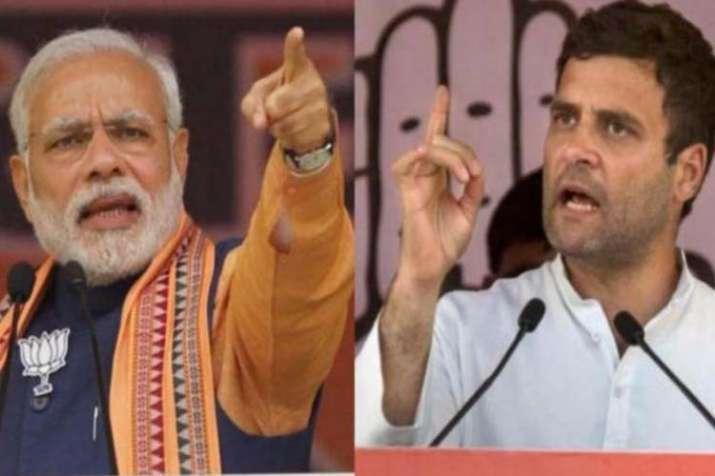 Narendra Modi and Rahul Gandhi- India TV