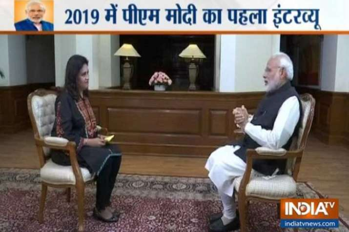 PM Narendra Modi Interview LIVE- India TV