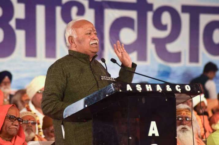 RSS Chief Mohan Bhagwat- India TV
