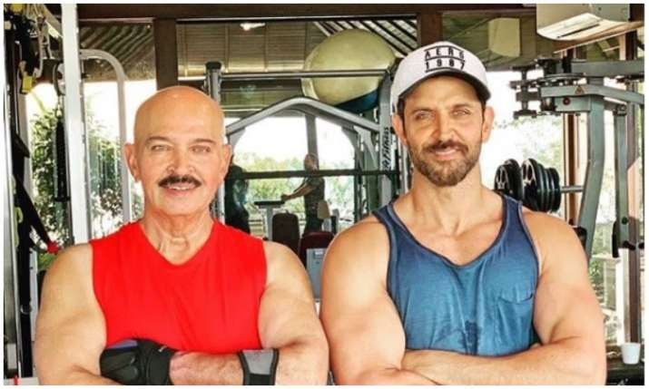 Hrithik Roshan and Rakesh Roshan- India TV