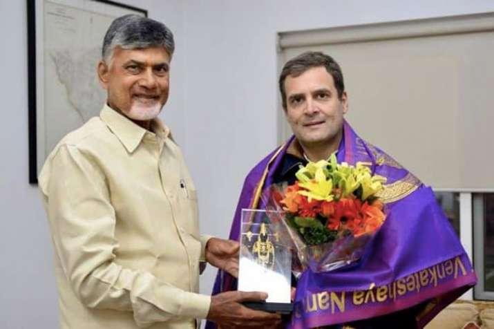 Chandrababu Naidu meets Oppn leaders in Delhi, says next step will be decided in Kolkata rally | Fac- India TV