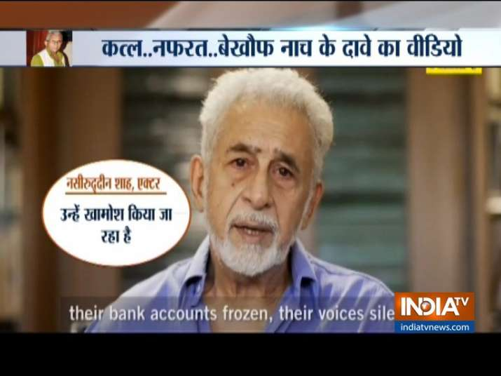 New controversial Video of Naseeruddin Shah surfaced- India TV