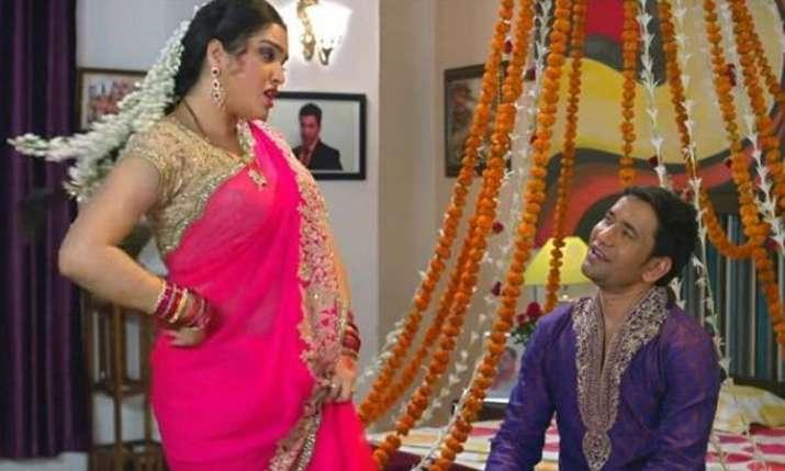 निरहुआ, काजल राघवानी और आम्रपाली दुबे - India TV