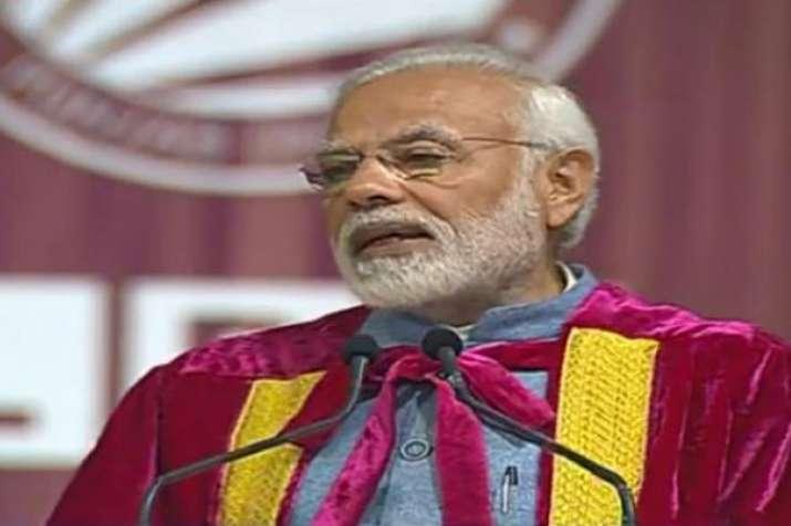 PM मोदी ने जय जवान, जय किसान, जय विज्ञान में 'जय अनुसंधान' जोड़ा - India TV