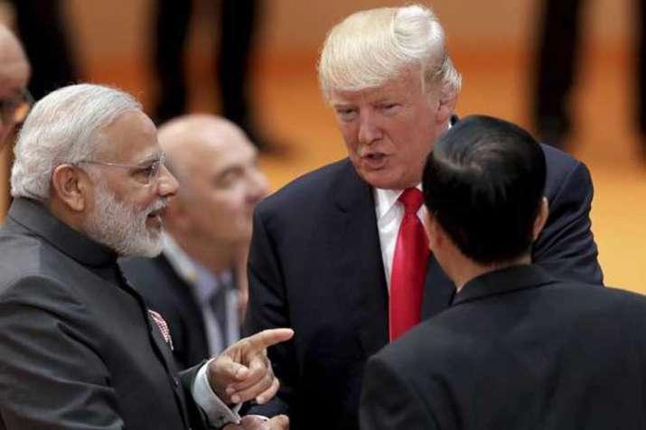pm modi and donald trump- India TV