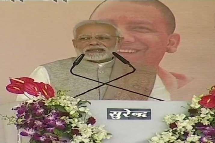 PM Modi Agra- India TV