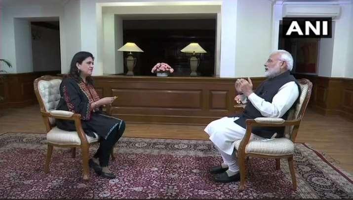 PM Modi's Interview- India TV