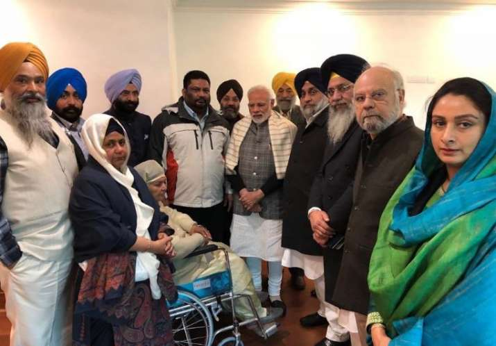 PM Modi met with 1984 Sikh riots victims on Wednesday- India TV