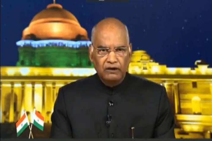 President Ramnath Kovind Speech- India TV