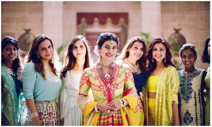 haldi ceremony of priyanka and nick- India TV