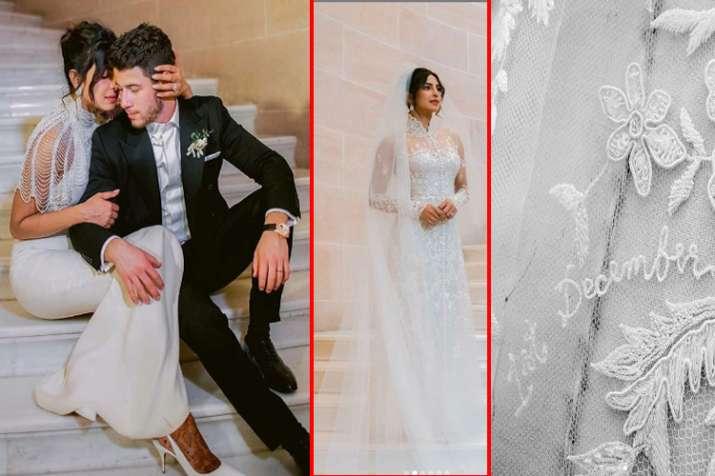 Priyanaka Chopra Wedding Gown- India TV