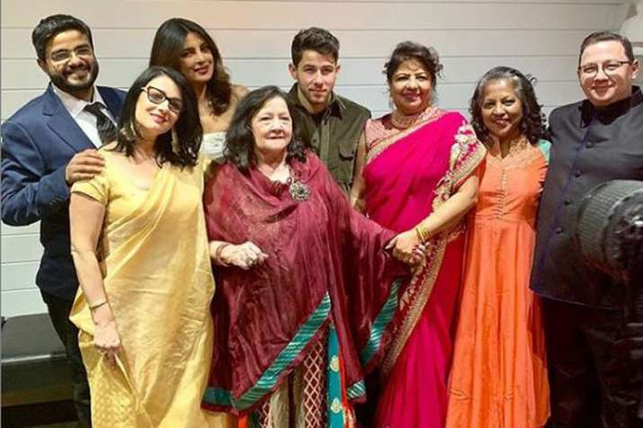 Priyanka Chopra mother Madhu Chopra is upset because of her intimate wedding with Nick Jonas- India TV