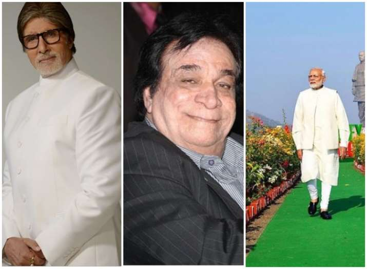 Kader khan, amitabh bachchan and PM Modi- India TV