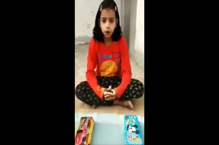 Watch: 8-year-old's pencil box analogy to explain rafale...- India TV
