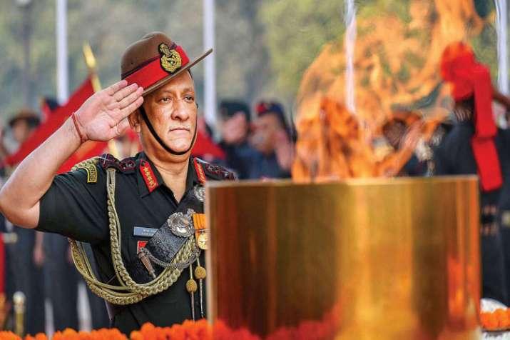 Army chief Gen Bipin Rawat- India TV